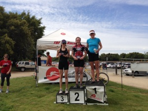 Age group podium