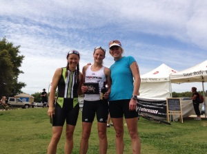 Top Three: Debby, Sian and me