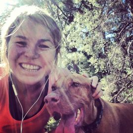 Little buddy has been a great running partner this summer!