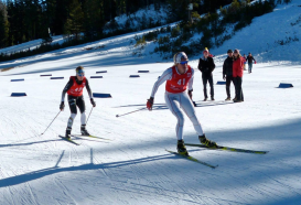Ski racing is HARD!