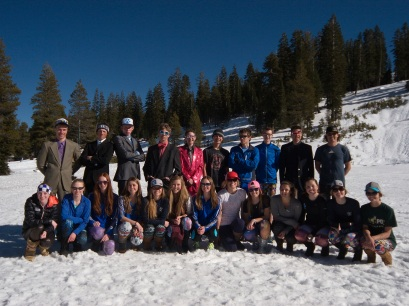 2014 NTHS Nordic Team. Photo by David Antonucci