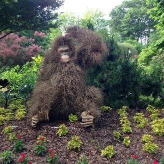 Atlanta Botanical Gardens - Plant statues!