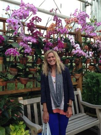 Orchid Room at the Atlanta Botanical Gardens