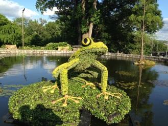 Plant statue at Atlanta Botanical Gardens
