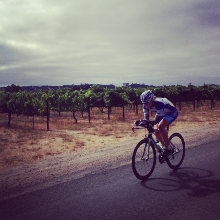 Gorgeous riding in wine country! Photo by August Teague.