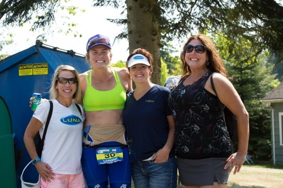 With the Seattle gals post-race. Thanks for being there! Also thanks to Daniel Tomko for the great pics!