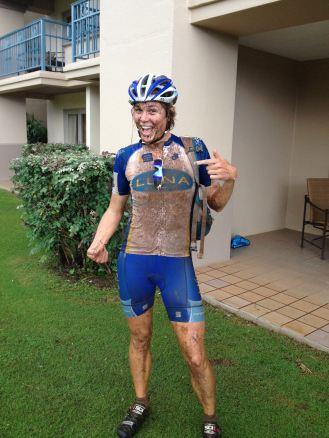 Just a bit muddy!