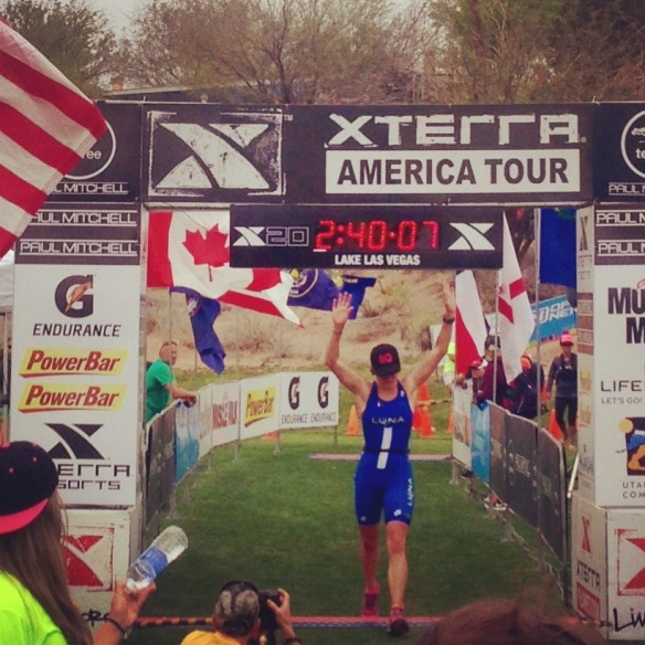 Thrilled to cross this finish line! Photo by August Teague.