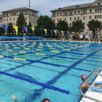 The AMAZING pool at Emory where we put in so much work together... I miss this place!