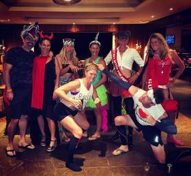 The Xterra post-race halloween party was EPIC! And so are these peeps!