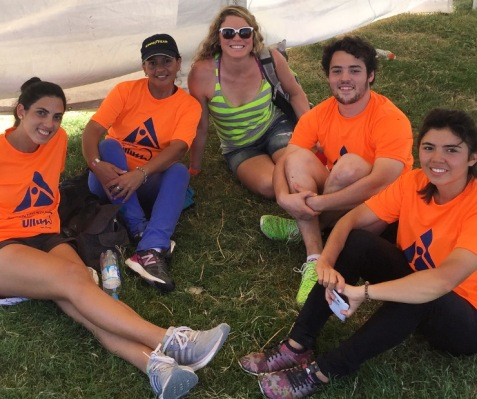 Xterra Argentina Race Volunteers -- and some of the nicest people you could ever hope to meet!